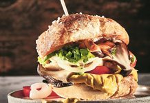 Burger deluxe: Smoked Pulled-Seitling-Slider