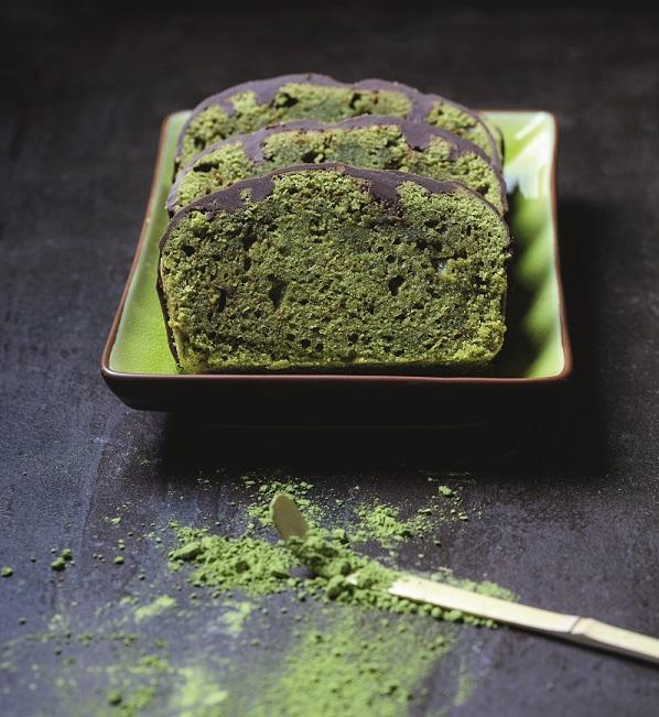 Veganer Matcha Tee Kuchen
