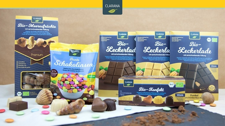 Vegan World Adventskalender: Schoko-Set von Clarana