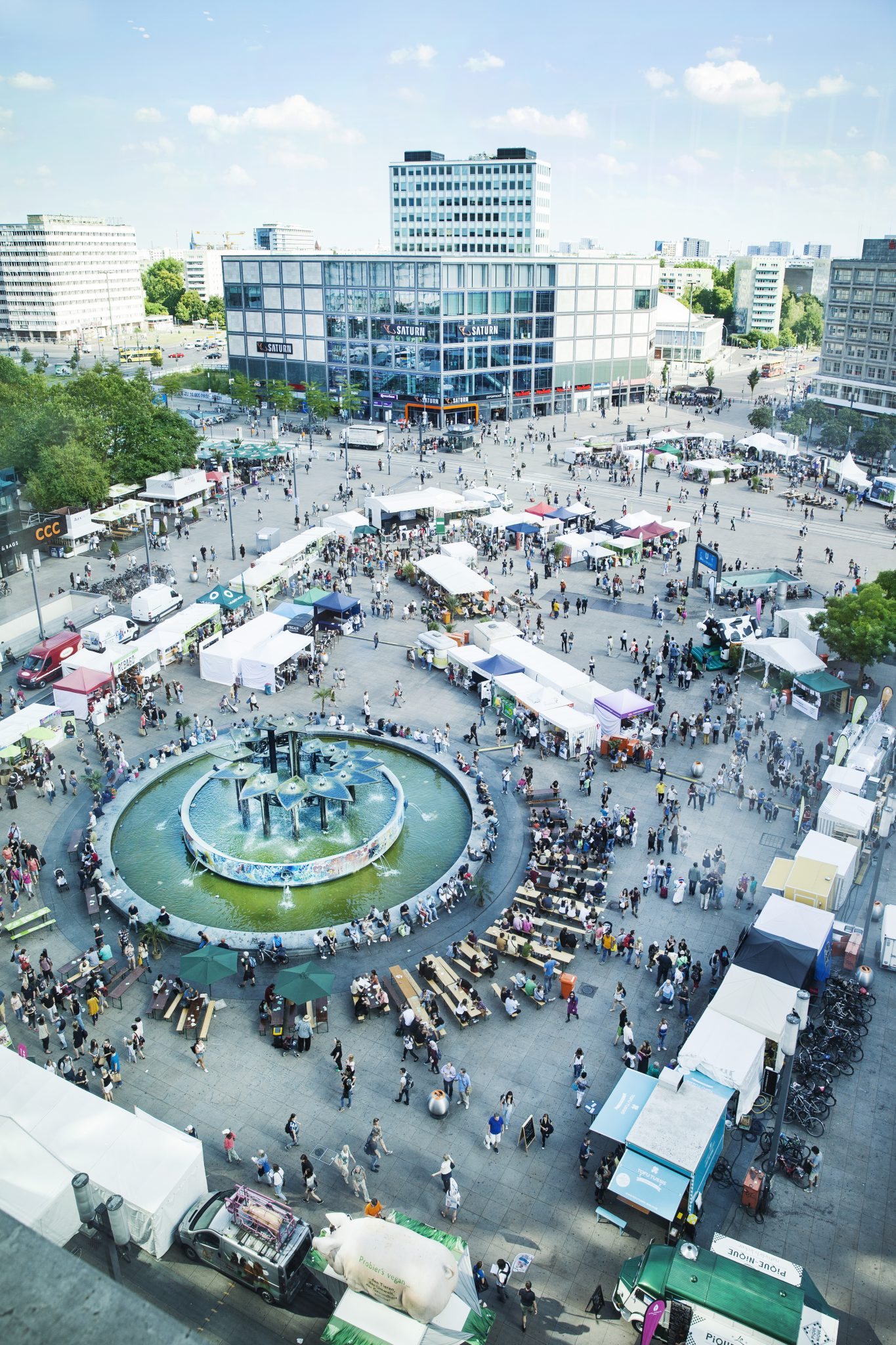 Veganes Sommerfest In Berlin