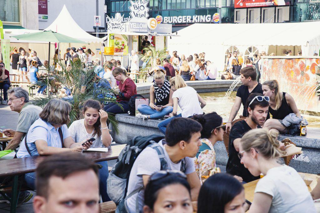 Veganes Sommerfest