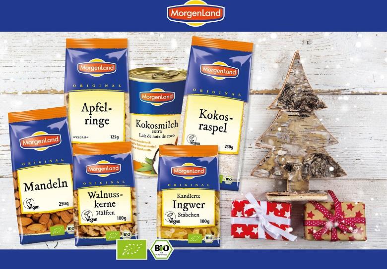 Vegan World Adventskalender: Genießer-Paket von MorgenLand
